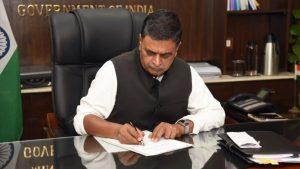 وزير الطاقة الهندي راج كومار سينغ - أرشيفية