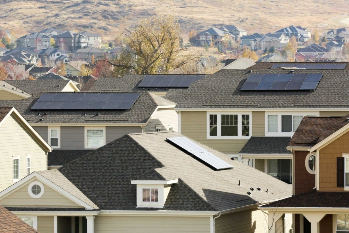 مشروعات الطاقة الشمسية السكنية