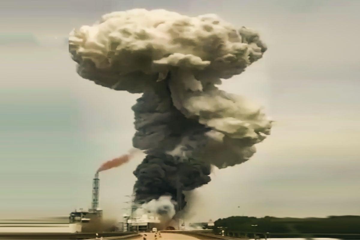 انفجار مصنع في ألمانيا