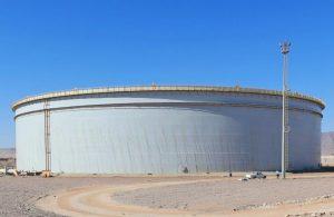 مصر - مستودع تخزين النفط الخام بمنطقة رأس بدران