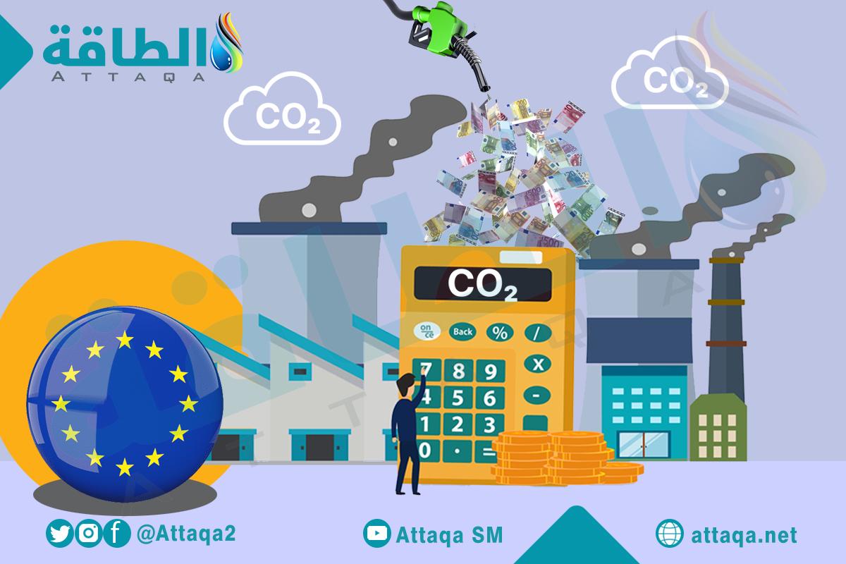 تداول الانبعاثات - الاتحاد الأوروبي- الكربون
