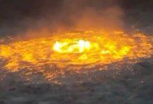 """Photo of حريق """"عين النار"""".. هل يقف التغير المناخي وراء المشهد المرعب في خليج المكسيك؟"""