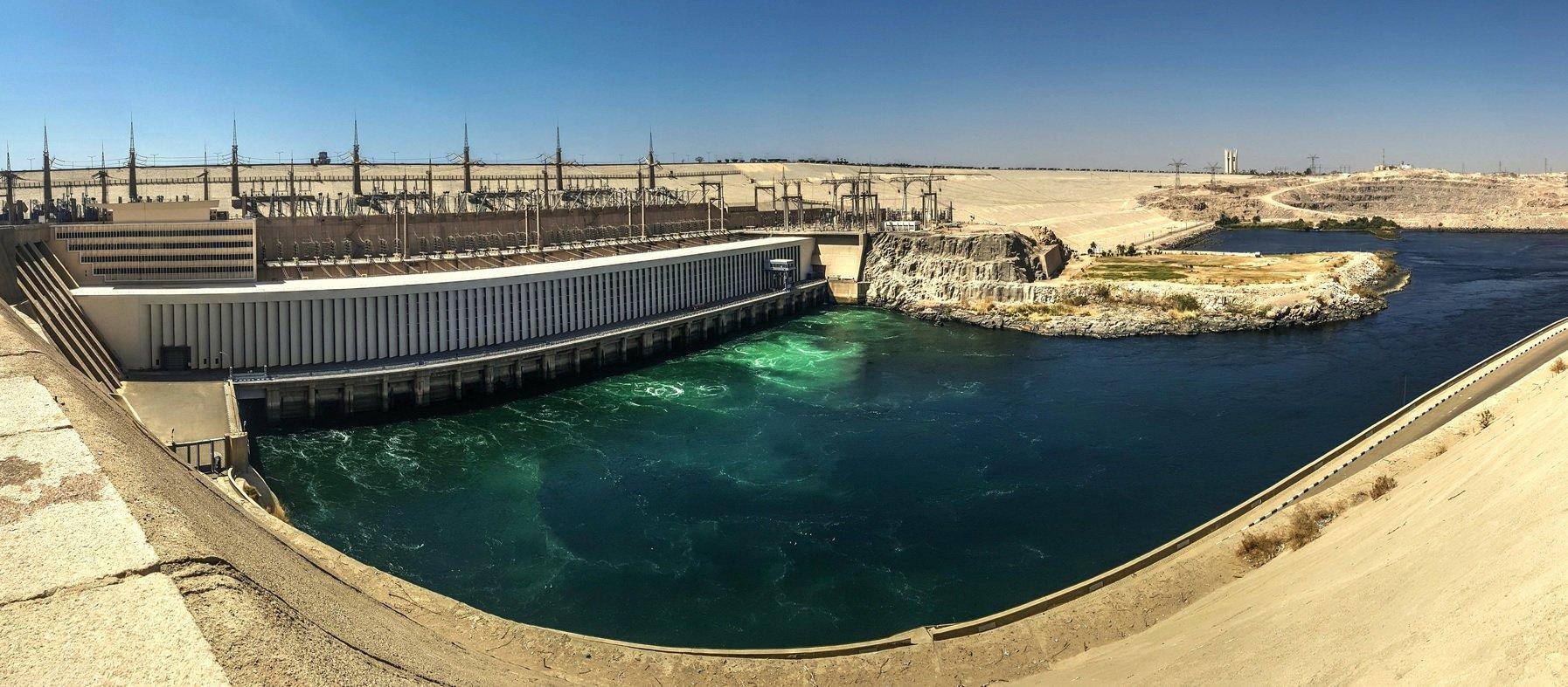 السد العالي - الطاقة الكهرومائية