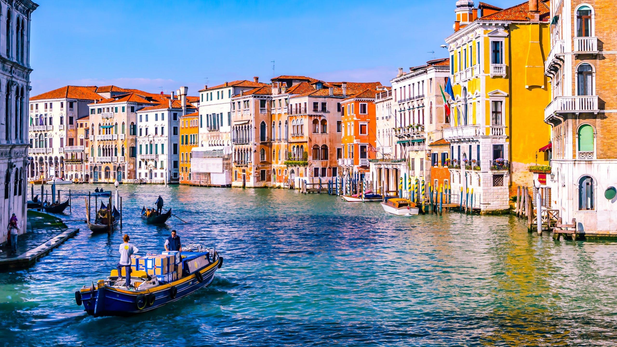 مدينة البندقية في إيطاليا - أرشيفية