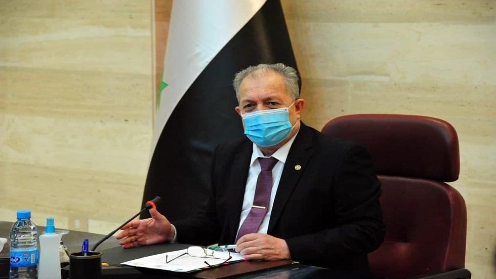 رئيس الوزراء السوري حسين عرنوس