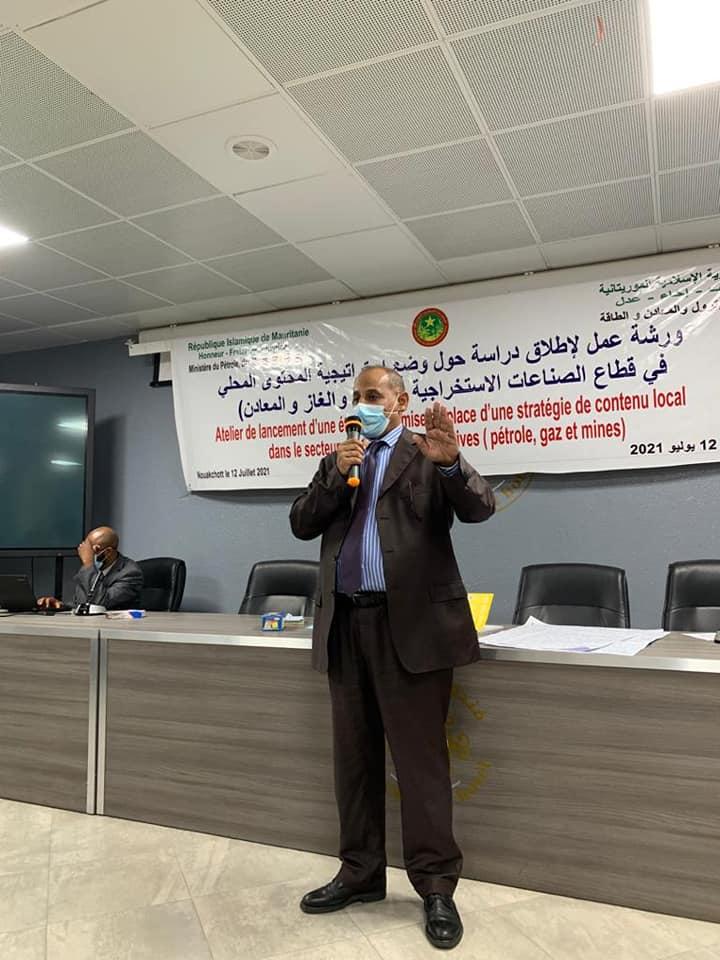 جانب من ورشة عمل وزارة الطاقة في موريتانيا