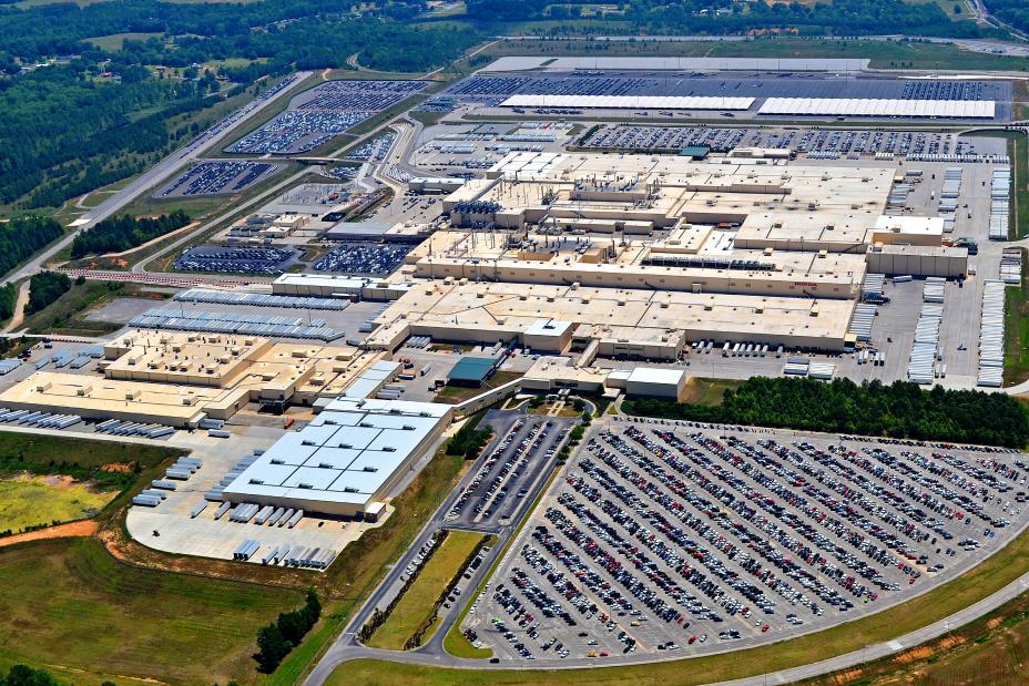 مصنع هوندا موتورز في ألاباما