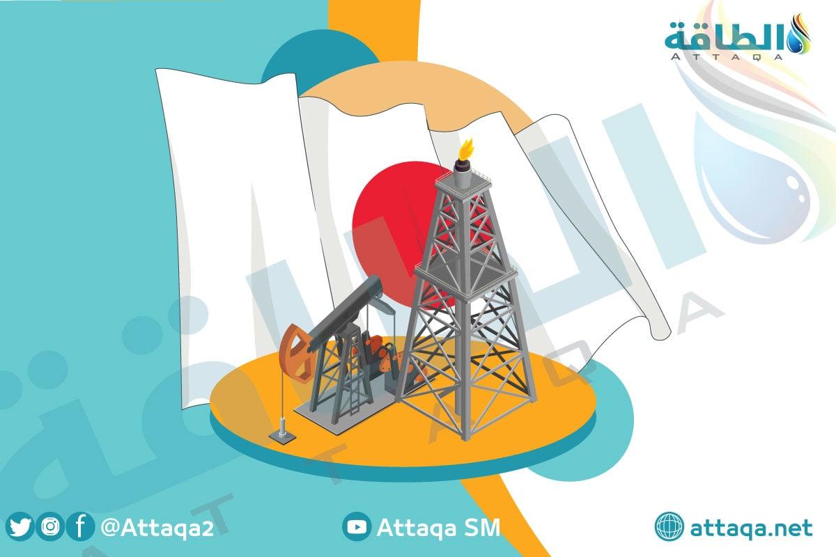 النفط والغاز في اليابان