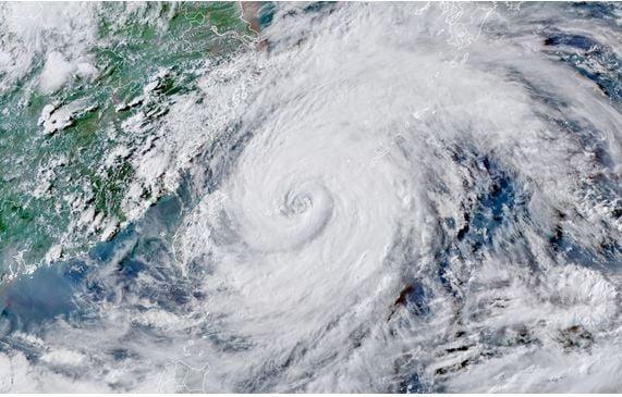 الصين - إعصار إن-فا المدمِّر
