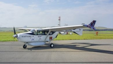 "Photo of أول طائرة كهربائية هجينة لـ""آمباير"" تحلق في سماء إسكتلندا"