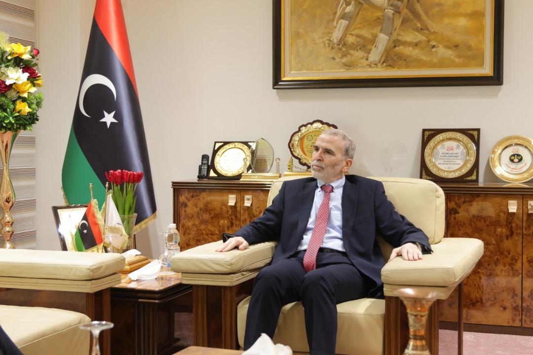 شركة أو إم في - قطاع النفط الليبي