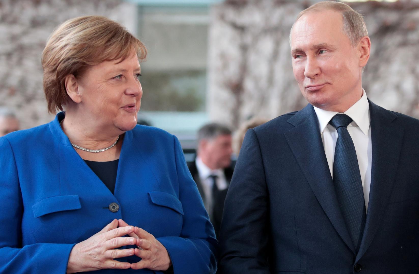 روسيا وألمانيا - خط نقل الغاز