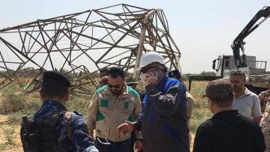 Photo of العراق.. عمل تخريبي جديد يضرب خط كهرباء محطة ماء الكرخ