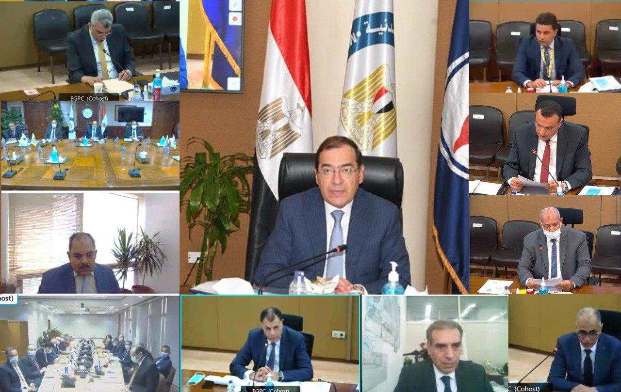 وزير البترول المصري - اكتشافات نفطية
