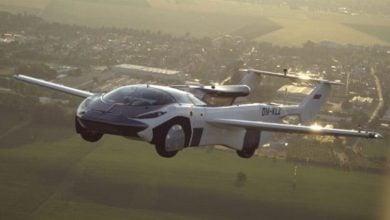 Photo of الإعلان عن أول سيارة طائرة هجينة في آسيا