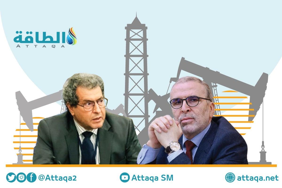 قطاع النفط الليبي - مصطفى صنع الله - وزير النفط والغاز الليبي