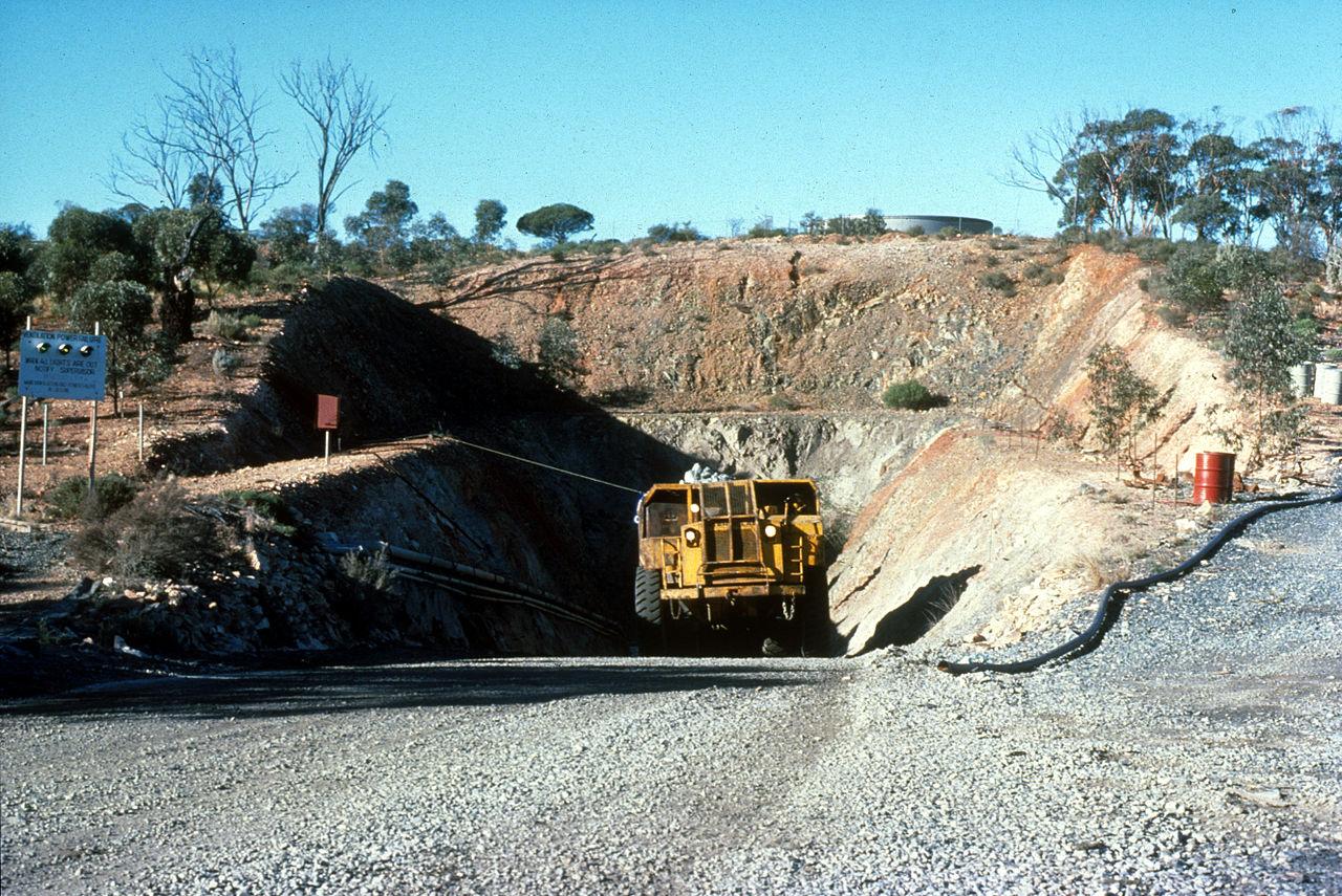 أحد مناجم النيكل في أستراليا