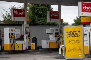 أزمة الوقود في بريطانيا