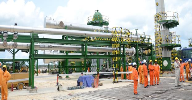 إحدى منشآت شركة النفط الوطنية النيجيرية