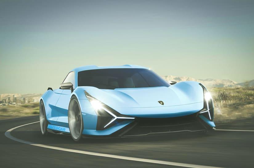لامبورغيني - السيارات الكهربائية