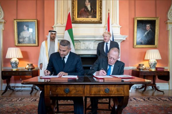 الإمارات - بريطانيا
