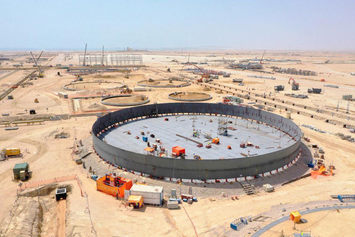 مشروع رأس مركز لتخزين النفط في سلطنة عمان