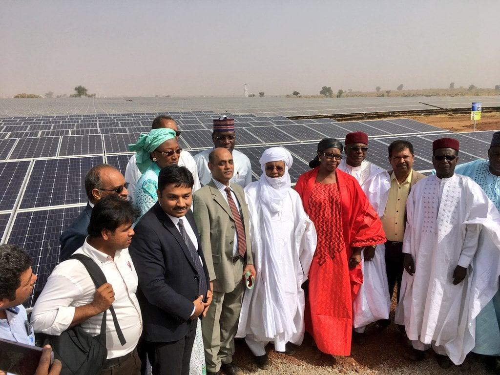 النيجر - مشروع للطاقة الشمسية - صورة أرشيفية