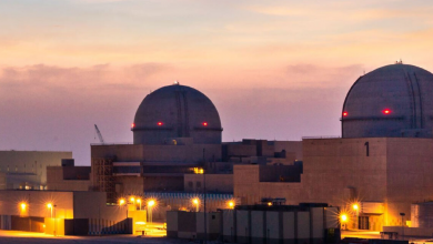 Photo of الإمارات تنجح في ربط ثاني محطات براكة النووية بشبكة الكهرباء