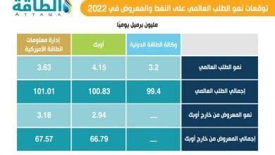 Photo of ملامح الطلب على النفط والمعروض من خارج أوبك.. نظرة متفائلة في 2022