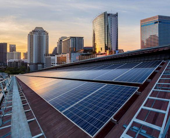 انتشار واسع لألواح الطاقة الشمسية