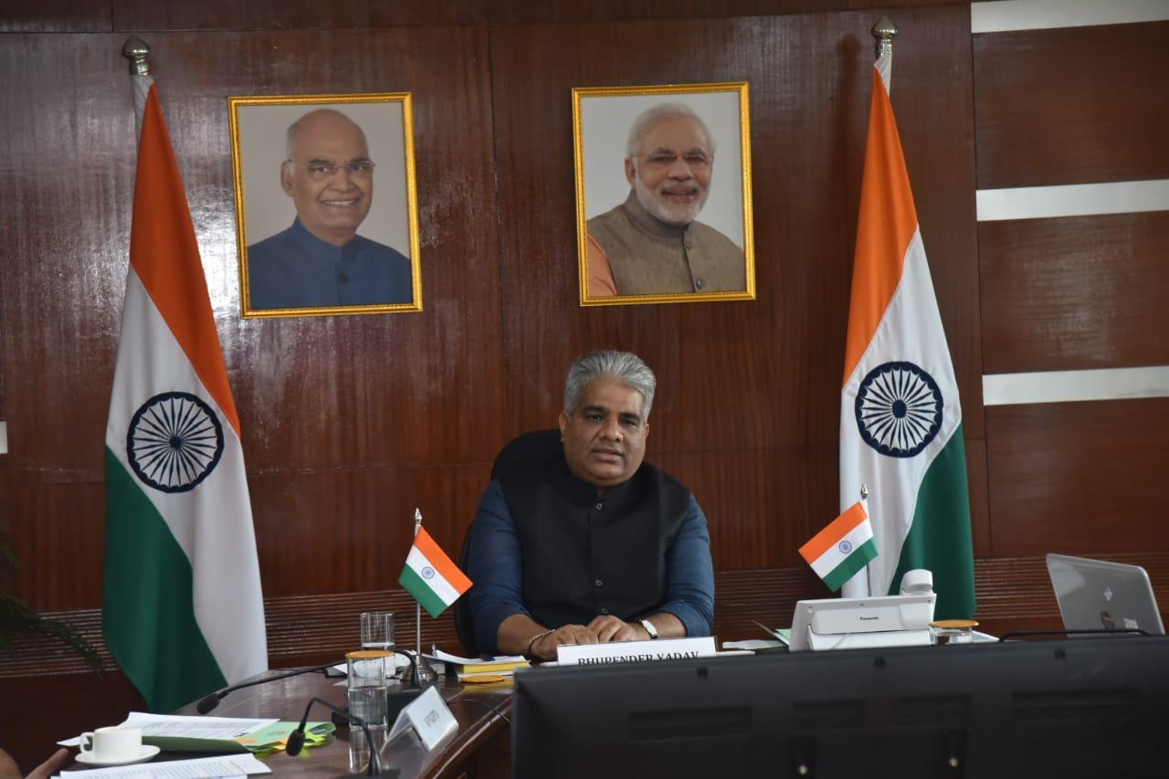 وزير البيئة الهندي-التغير المناخي