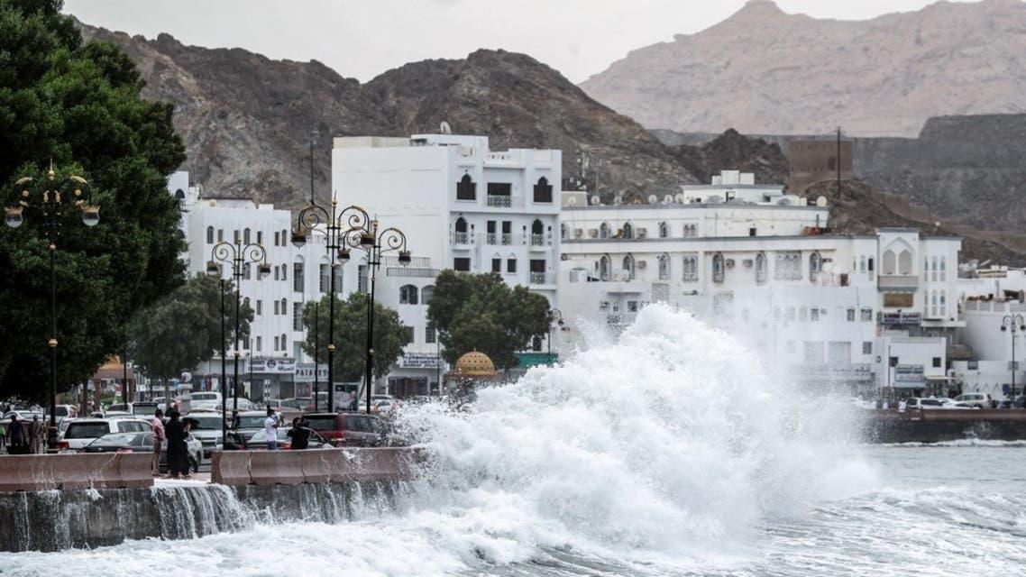 إعصار شاهين يضرب سلطنة عمان