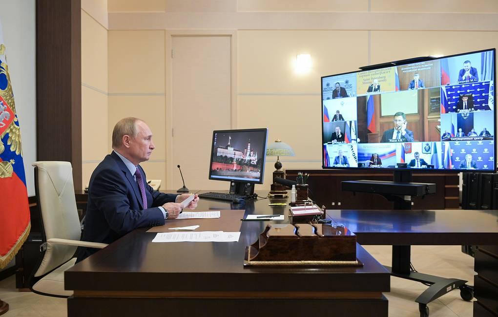 بوتين - الرئيس الروس-