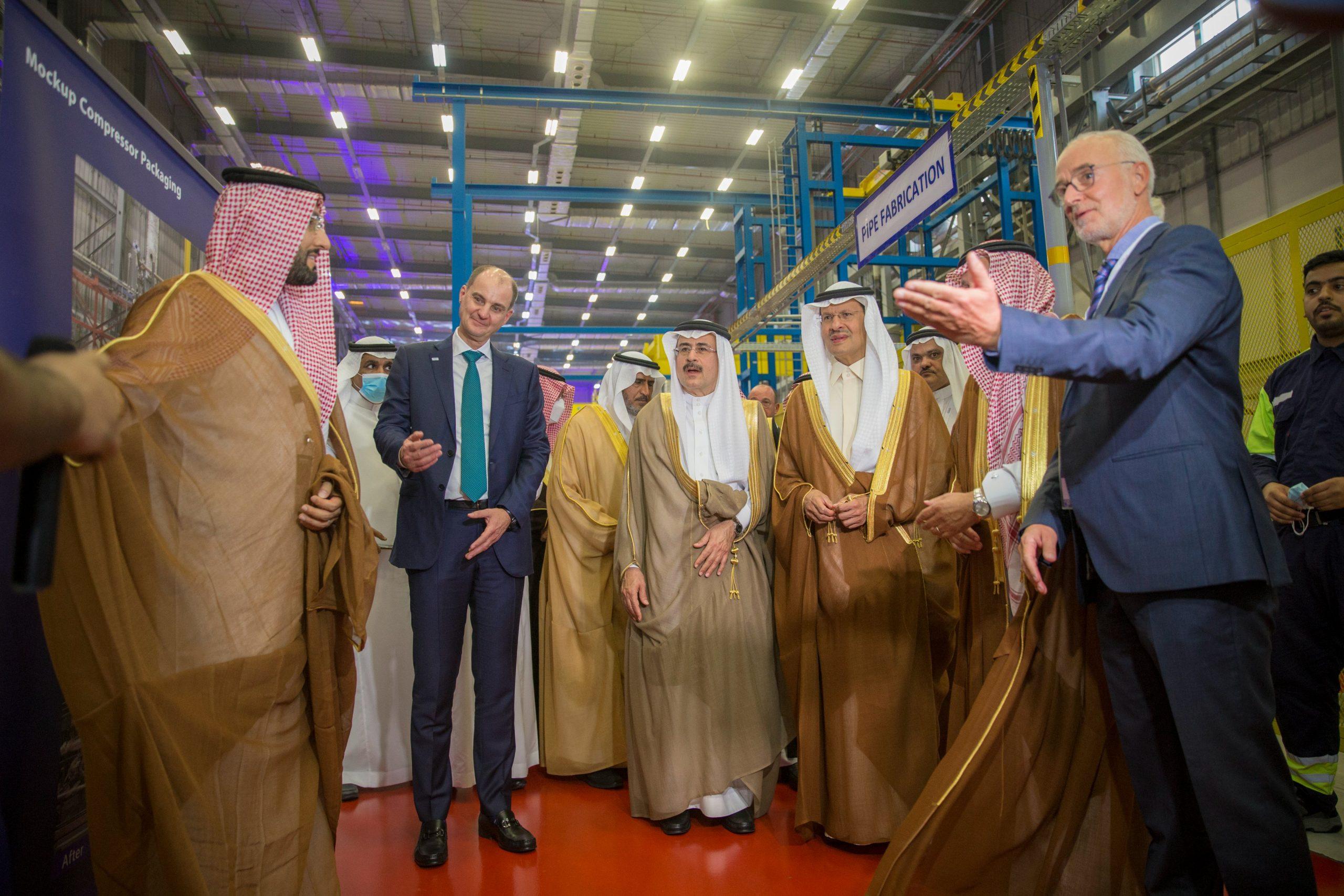 السعودية- سيمنس- وزير الطاقة