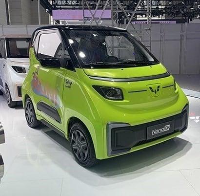 سيارة نانو الصينية الكهربائية