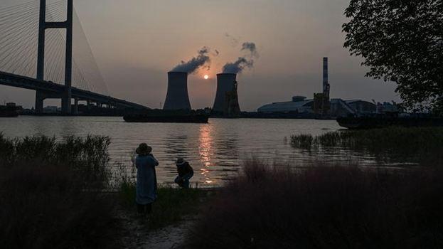 محطة صينية لتوليد الكهرباء